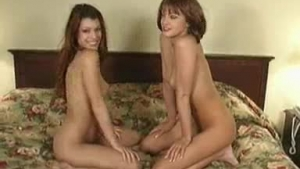 Sexy Monica Day Funnelles along with her lesbian friend