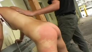 Nerdy babe got tied up and tortured, because she always wanted to be tortured like that