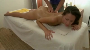 Sexy mature babe with huge tits is working as a masseuse today and often satisfying guys